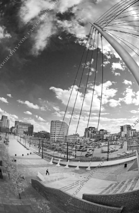 Denver from Millennium Bridge