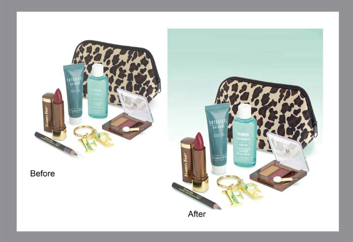 Cosmetic Direct Mail Layout