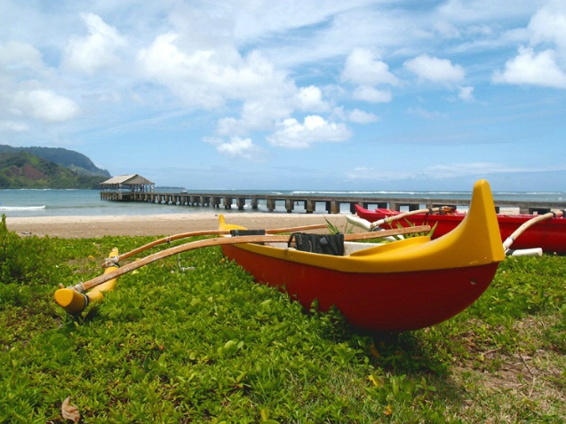 Hanalei Bay - Outrigger
