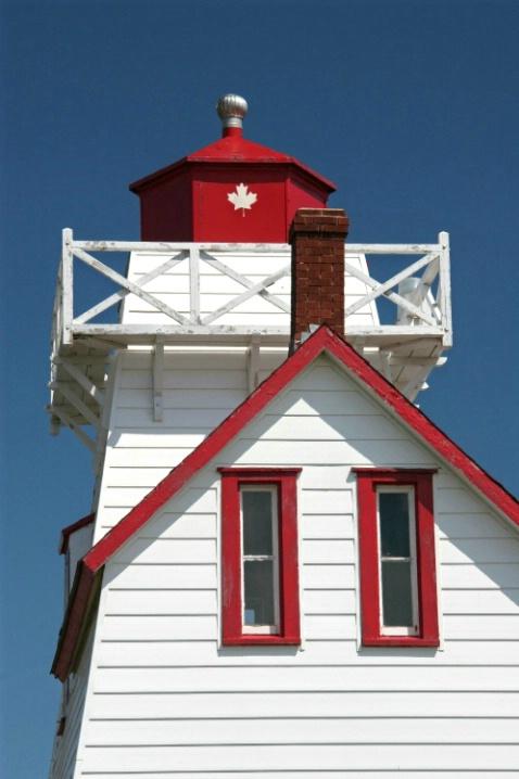 North Rustico Harbor Light, Prince Edward Island