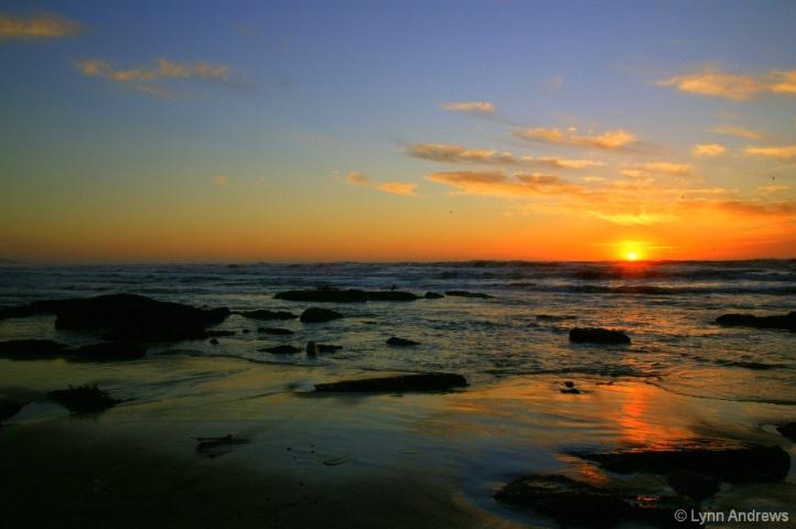 Sunset On The Left Coast