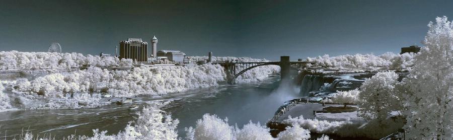 Niagara Falls - Infrared Panorama