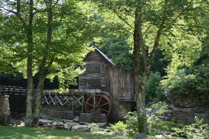Grist Mill in Summer