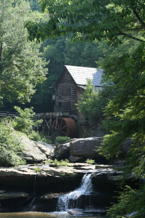 Babcock State Park Grist Mill