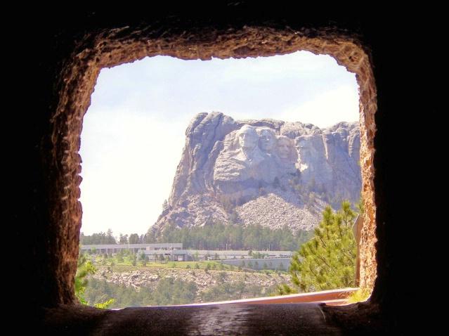 Approaching Mount Rushmore National Memorial, SD