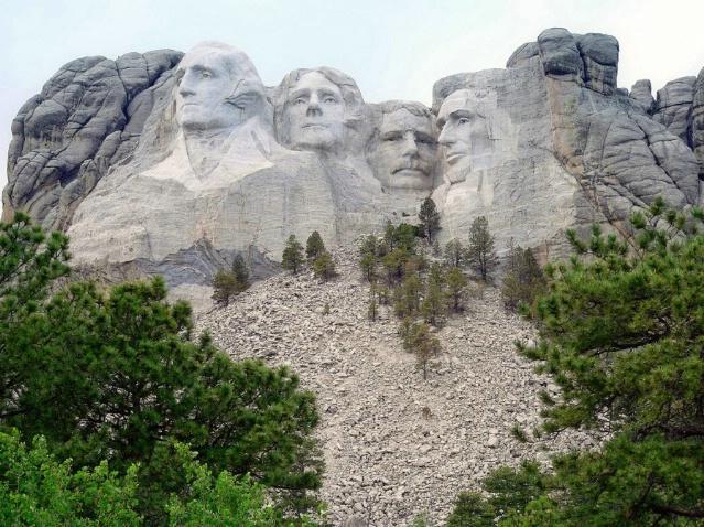 Mount Rushmore National Memorial, SD
