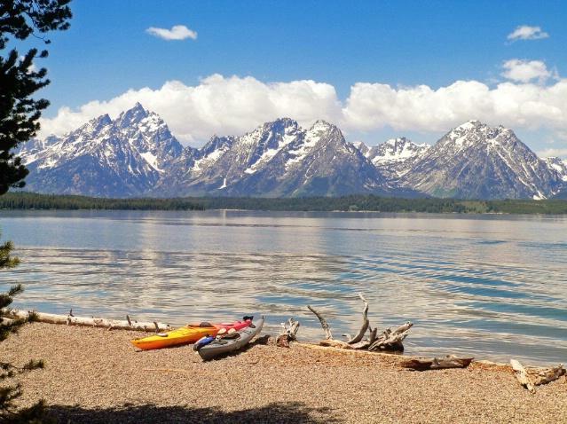 Jackson lake, Grand Teton National Park, WY