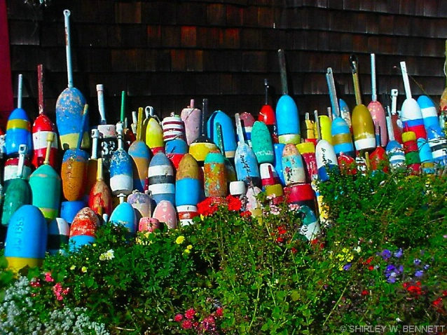 BOUYS AND FLOWERS