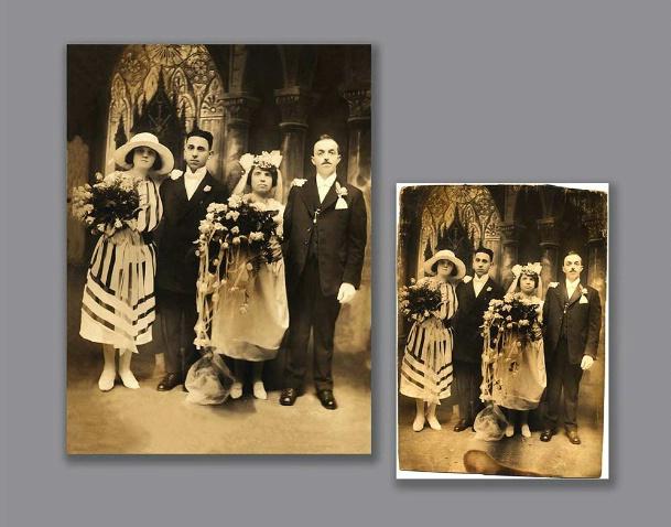 Restoration Old Photograph,Circa 1921