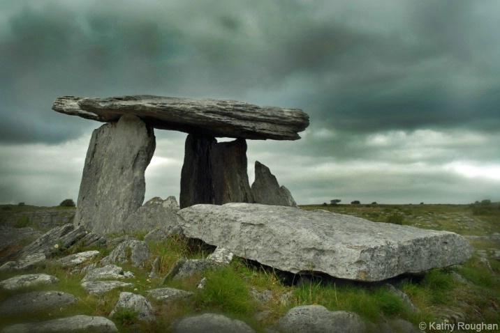 Poulnabrone Dolmen - Ireland