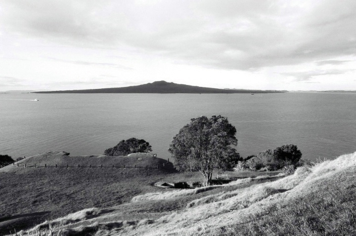 Rangitoto from North Head, Devonport, NZ