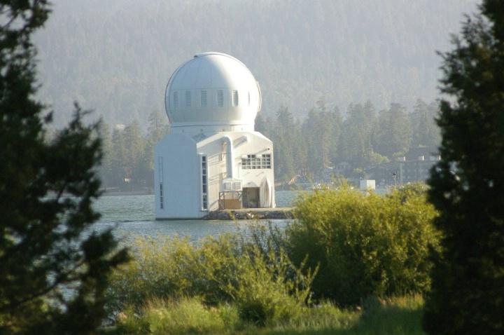 Big Bear Lake, Ca Solar Observatory