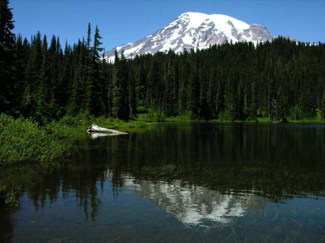 Mt Rainier Reflection lake