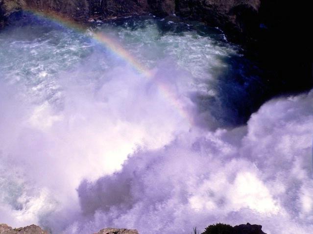 Lower fall, Yellowstone, WY