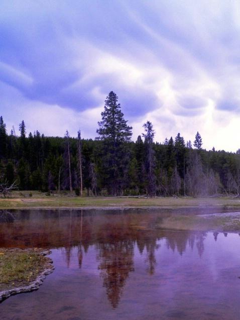 Where is my umbrella? Yellowstone, WY