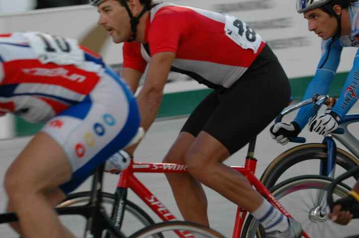 Cycle Racing at the Velodrome