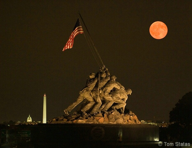 Iwo Jima Moonrise