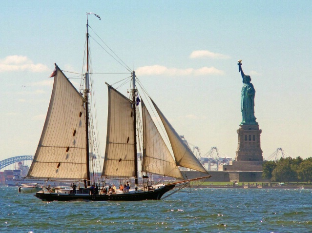 Reaching the Statue of Liberty