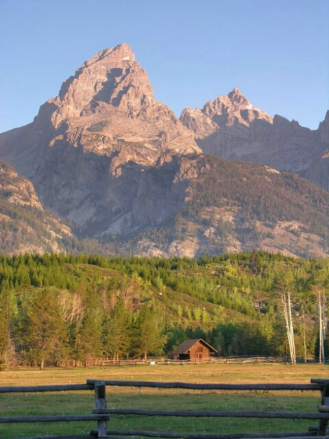 Grand Teton early morning
