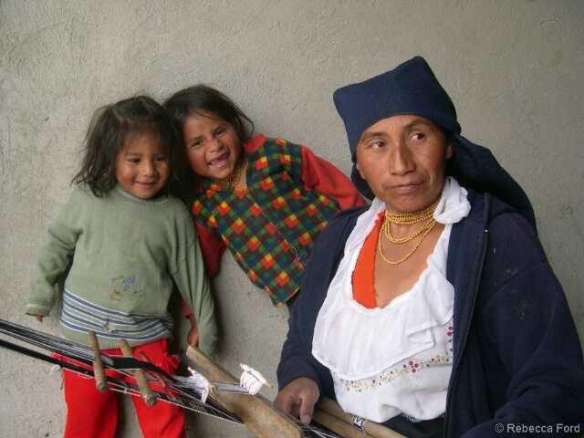 Weaver and Children