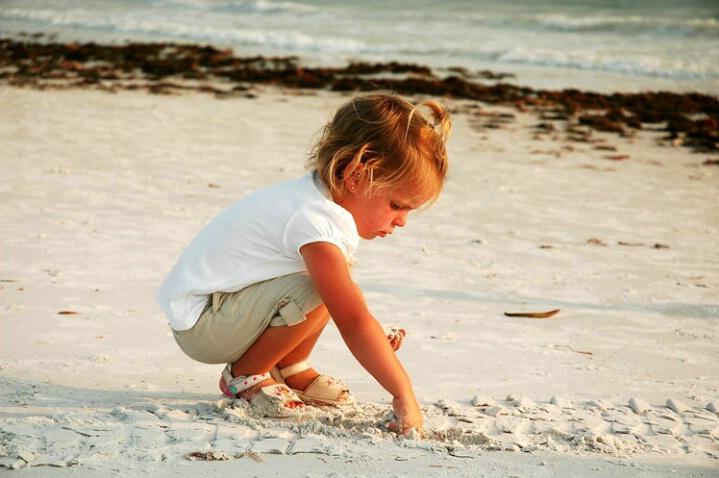 child photograph st. pete beach