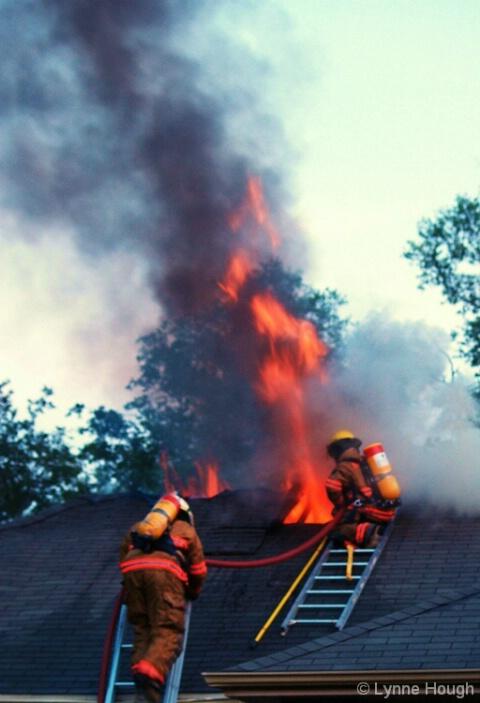 Milton, Florida fire around 2010
