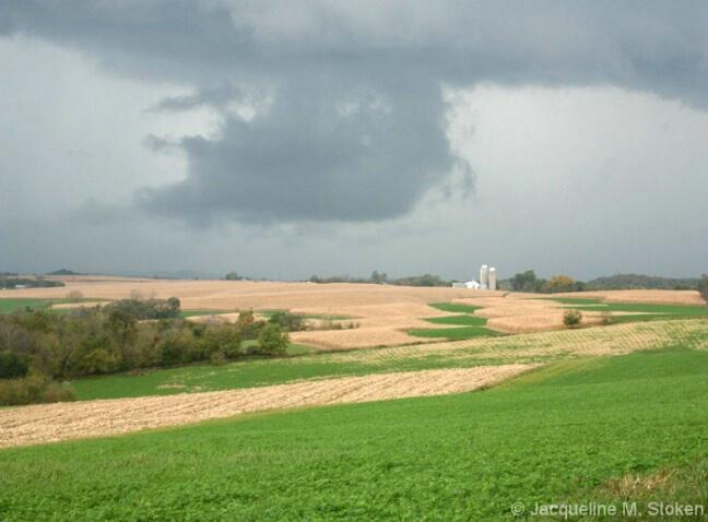 Looming storm over NE Iowa