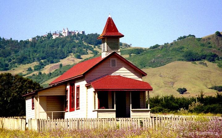 One Room Schoolhouse, San Simeon, CA 2005