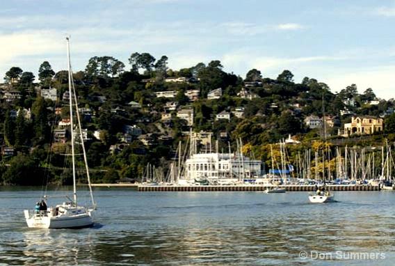 Corinthian Yacht Club, Belvedere, CA 2007