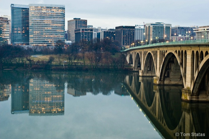 Key Bridge to Rosslyn
