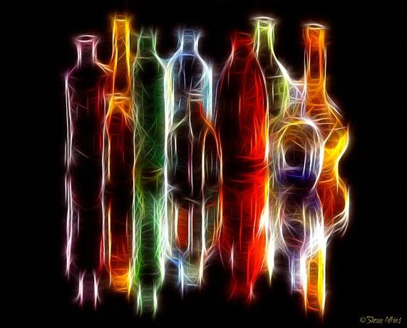 Fractiled Bottles