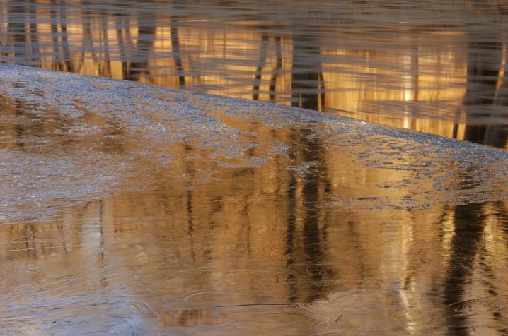 Frozen Edges Reflection