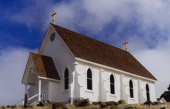 St. Hilary's Church, Tiburon, CA 2004