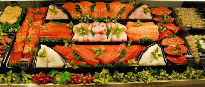 Cookbook - Fresh Fish Counter