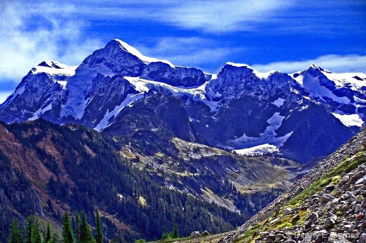 Mt Shuksan,  Mt. Baker NF- WA