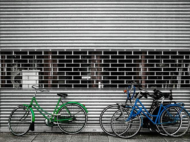 Blue & Green Bikes