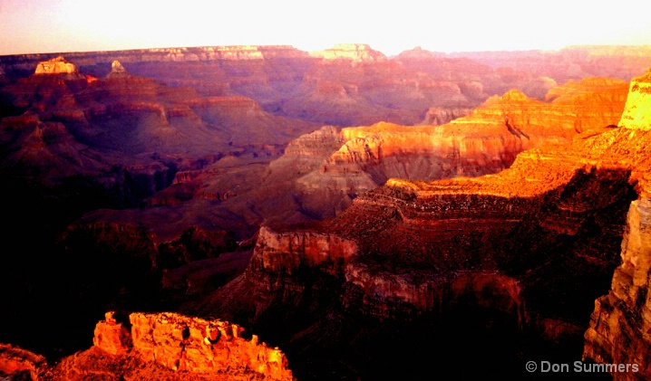 The Grand Canyon, AZ At Sunset 2006