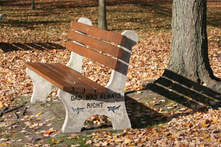 dad's bench