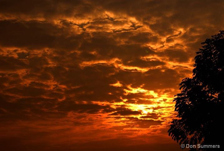 Sunrise, Butare, Rwanda 2007