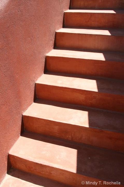 Stucco Staircase