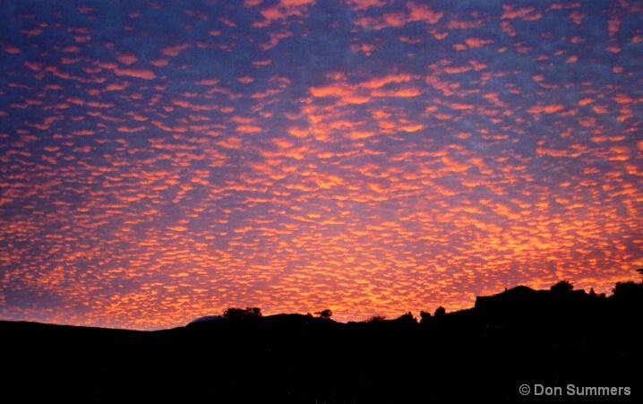 Red Sunrise, Tiburon, CA 2006