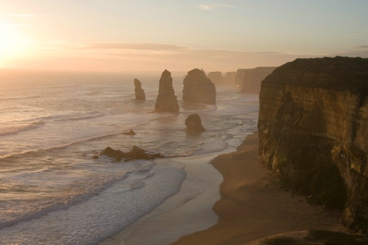 Golden Light on the 12 Apostles