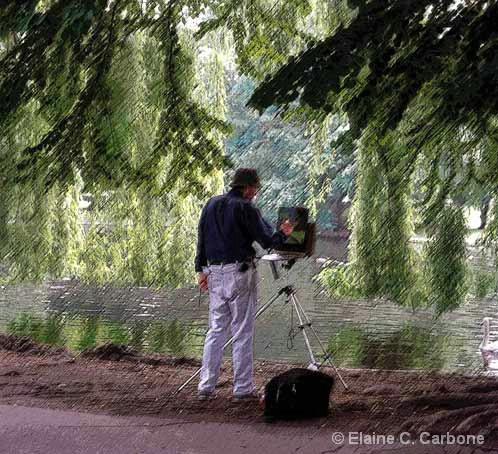 Artist , Boston Gardens
