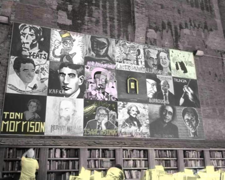 Authors, Brattle Street Book Store, Boston