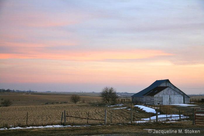 Civil Twilight and Barn