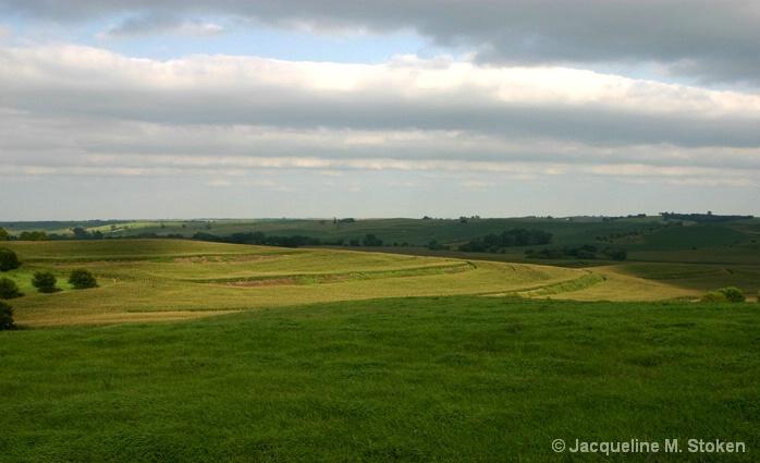 Iowa farm terracing