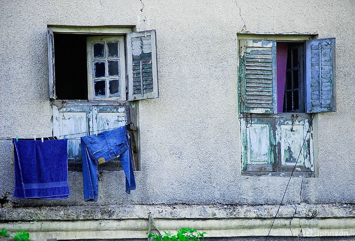 Blue Windows - Tanzania