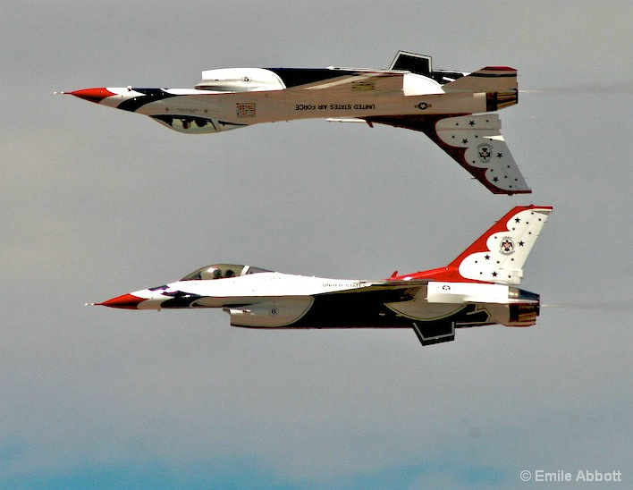 """Thunderbirds Precision"" Over and Under"