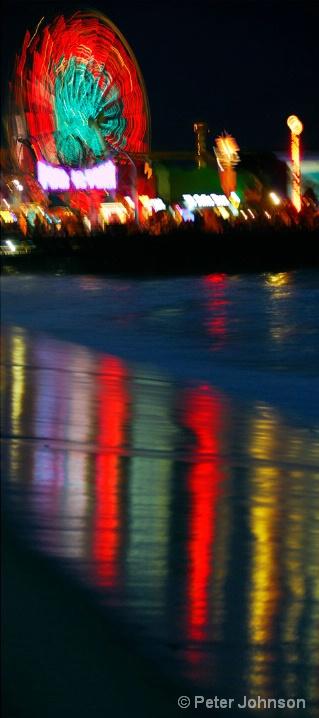 Boardwalk Ferris Wheel - Santa Monica, California