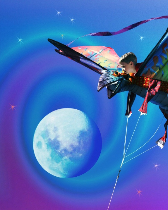 I Dreamed I Flew on a Kite Way Up to the Moon